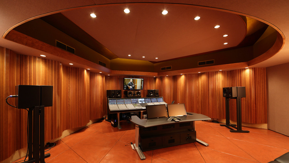 View Entering Studio Annex Control Room from Entrance